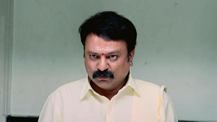 An Angry Still Of Manjunath