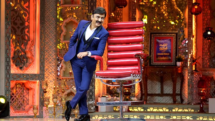 An Exclusive Still Of Host Ramesh Aravind