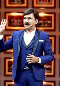 An Exclusive Still Of Weekend With Ramesh Season 4 Host Ramesh Aravind On The Grand Finale Episode