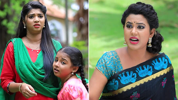 When Maya Gets Furious With Swathi And Aishu For Pushing Her