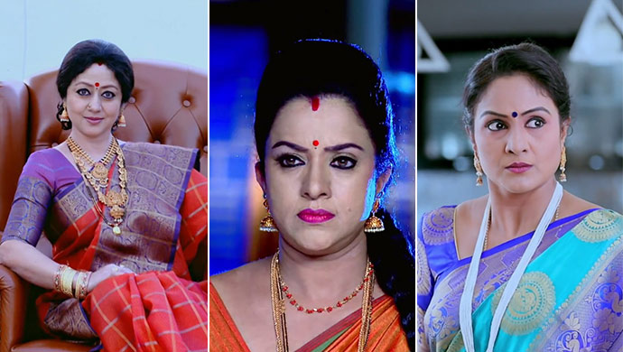 A Collage Of The Three Most Demanding Mother-In-Laws Of Zee Kannada