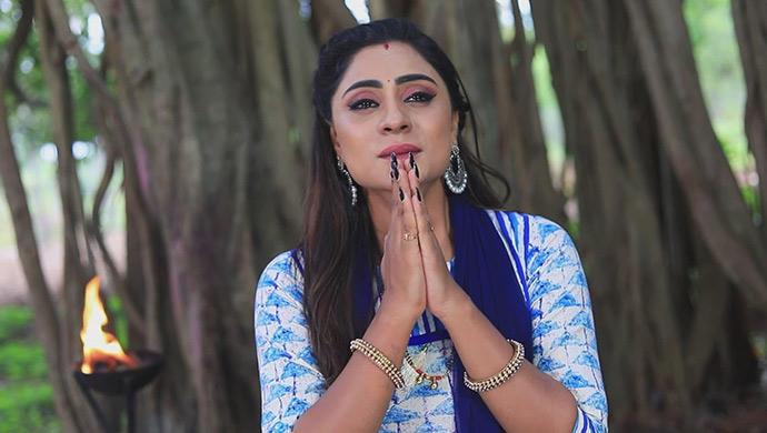 A Praying Still Of Amrutha