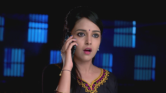 A Shocked Still Of Amulya