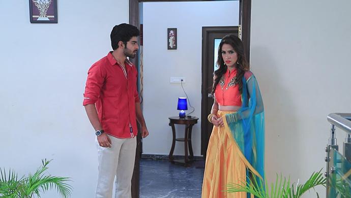A Still Of Arjun And Urmila
