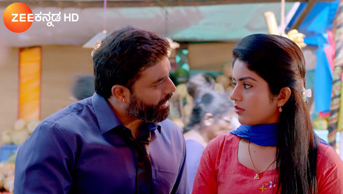 A Still Of Aryavardhan And Anu From Jothe Jotheyalli