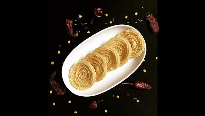 A Still Of Benne Murrukku Also Known As Butter Chakli