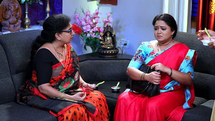 A Still Of Bharti Aunty And Subbi