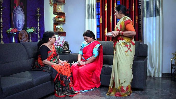 A Still Of Bharti Aunty, Subbi And Janakamma
