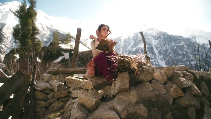 A Still Of Dia Mirza In The ZEE5 Original Series Kaafir