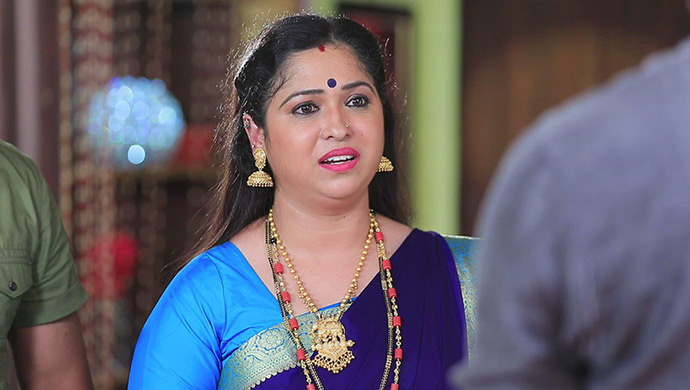A Still Of Gautham's Mother