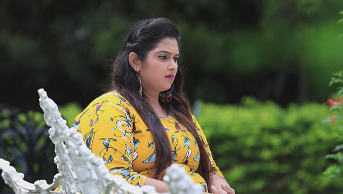 A Still Of Geetha Lost In Deep Thought
