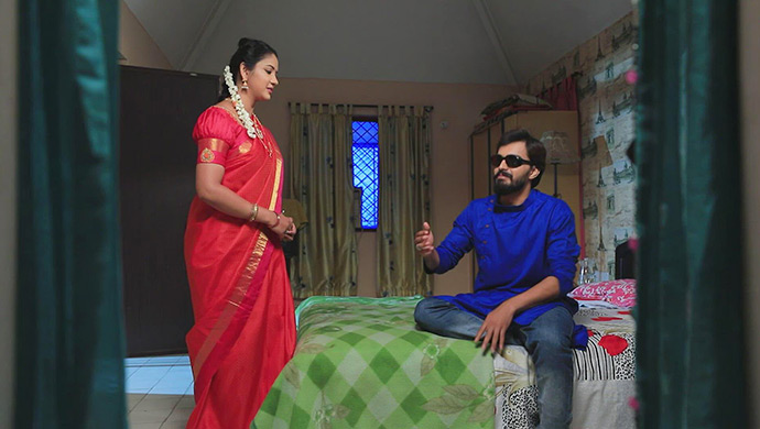 A Still Of Hiranmayi And Soorya