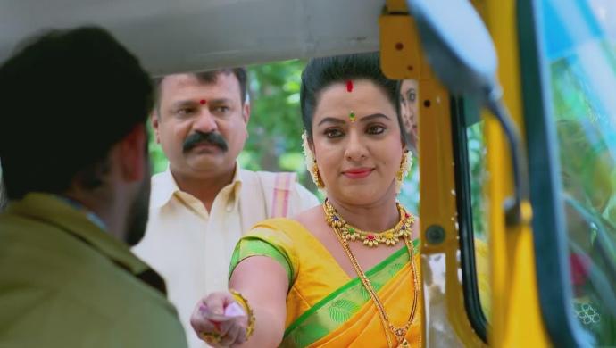 A Still Of Manjunath And Suhasini