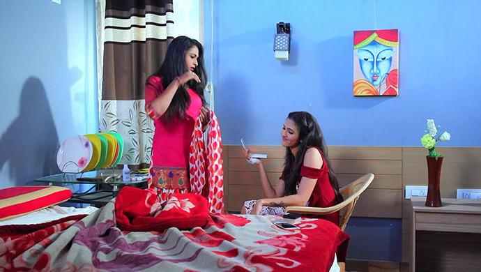 A Still Of Vaishnavi And Shanaya