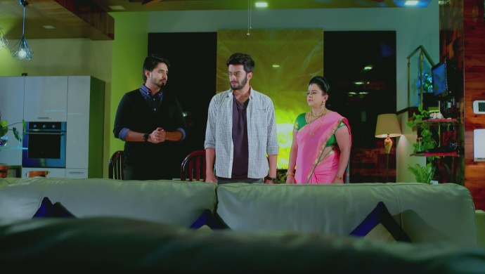 A Still Of Vedanth, Vikranth And Suhasini