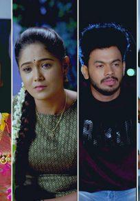 An Emotional Still Of Akhila, Paaru, Preethu And Aditya