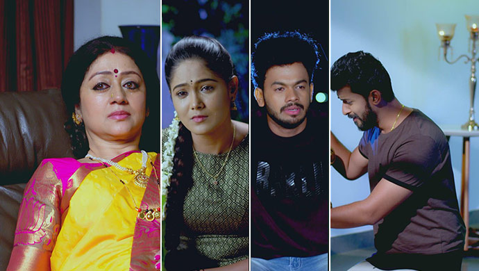 An Emotional Still Of Akhila, Paaru, Preethu And Aditya
