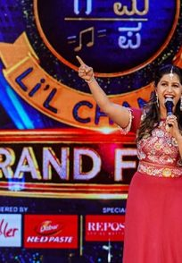 An Exclusive Still Of Anushree During The SRGMP Li'l Champs Season 16 Finale