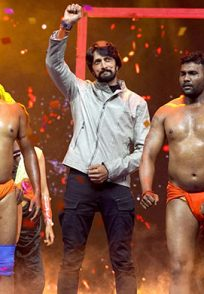 An-Exclusive-Still-Of-Kichcha-Sudeep-On-Stage-pailwaan-audio-launch