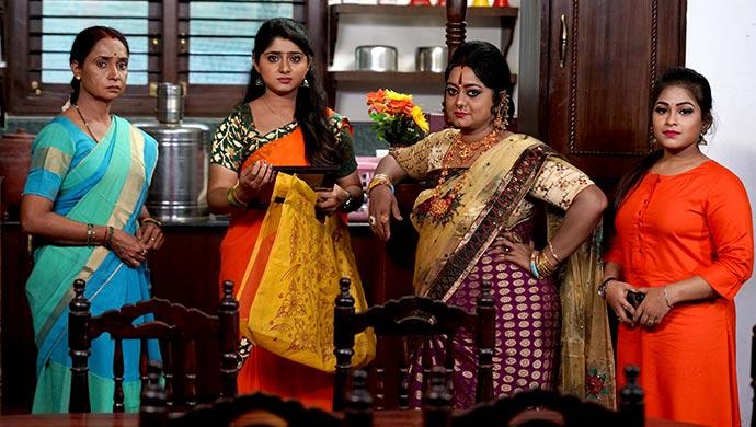 An Exclusive Still Of Tulasi, Radha, Kanthamma And Likitha