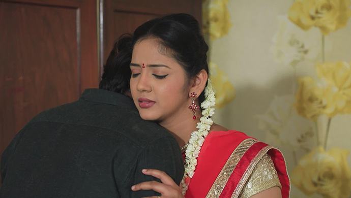 Hiranmayi Blushes When Soorya Grabs Her