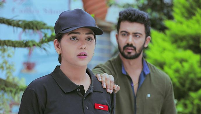 Kamali And Rishi In A Still