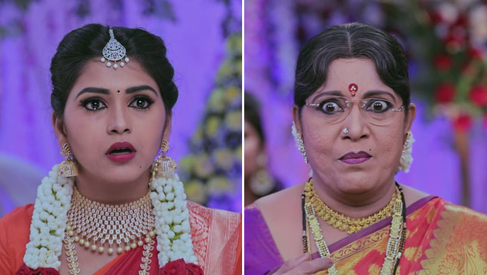 Kamali Is Shocked When Annapoorna Accuses Her Of Cheating