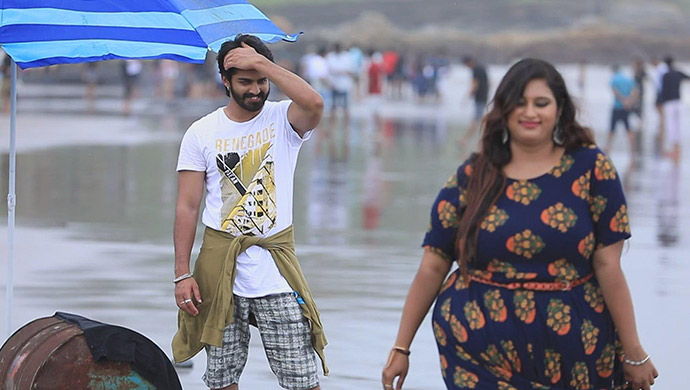 Lucky And Geetha Both Blush To The Romantic Mood Of Goa