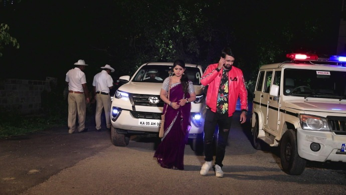 When The Police Confiscate Krishna's Car Because Of Radha