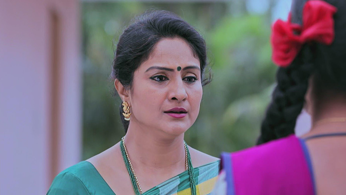 A Guilty Still Of Tara Looking At Kamali