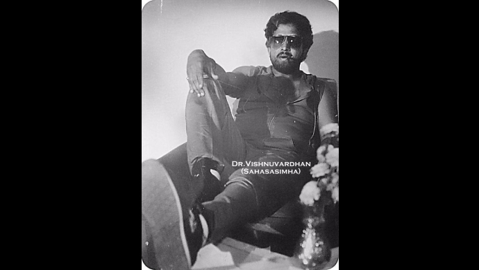 A Old Picture Of Dr Vishnuvardhan