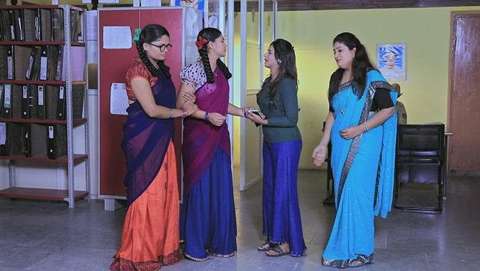A Still Of Ningi, Kamali, Rachana And Hasini