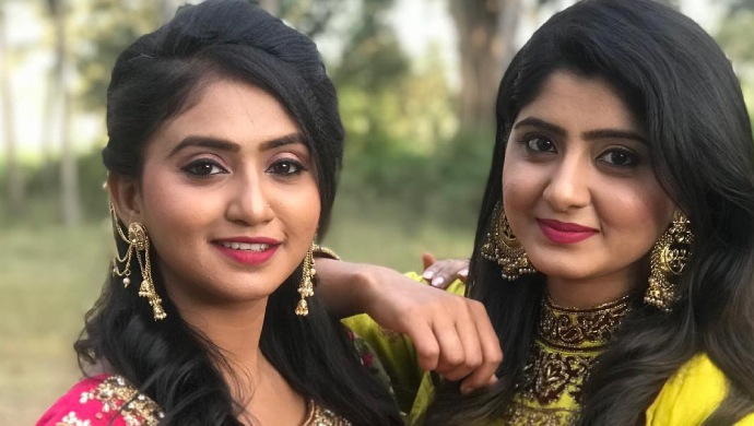 9 Pics To Prove That Radha And Sarika From Radha Kalyana And Gattimela Are Best Besties