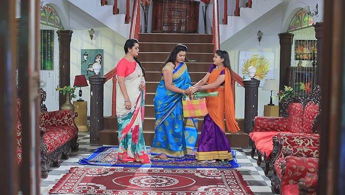 A Still Of Sharmila, Maya And Belli