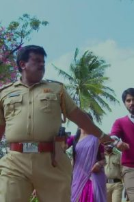 A Still Of Vedanth Getting Arrested