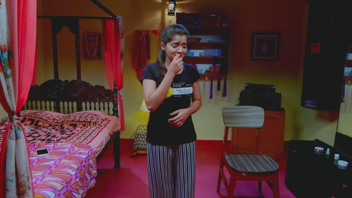 A Worried Still Of Adithi