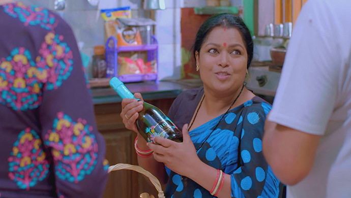 An Excited Still Of Pushpa