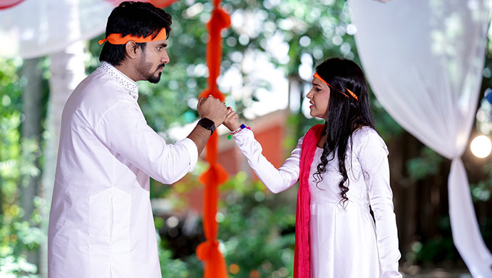 An Exclusive Pic Of Vedanth And Amulya