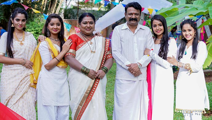 An Exclusive Still Of The Manjunath Family