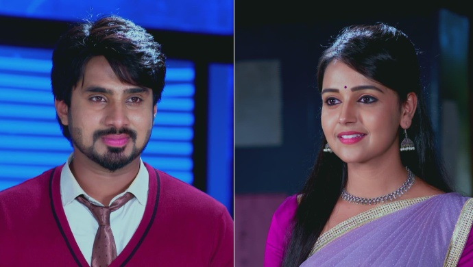 Vedanth Smiles At Amulya After She Saves Him From Jail