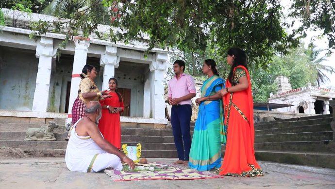 When Anand Interrupts Kanthamma Scolding Radha