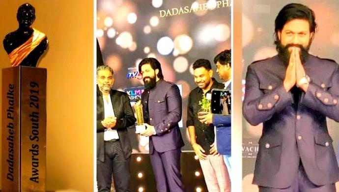 Yash Winning The Dadasaheb Phalke Awards South 2019