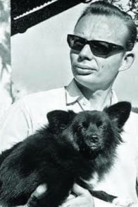 A Black And White Still Of Ruskin Bond In His Early Years