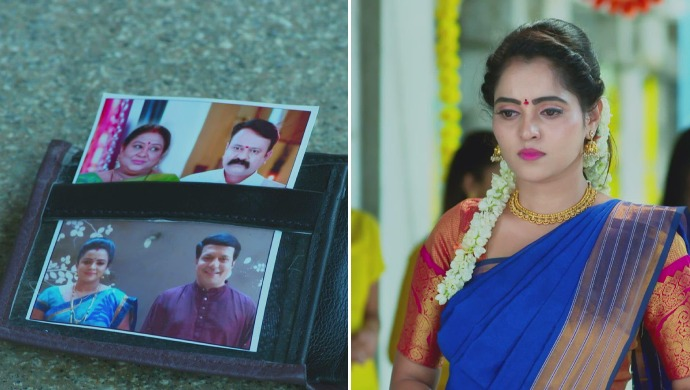 A Collage Of Aarthi-Vicky's Parents And Aarthi