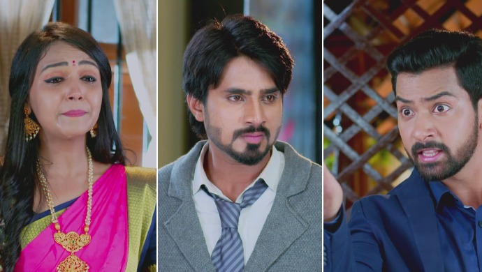 A Collage Of Amulya, Vedanth And Siddharth