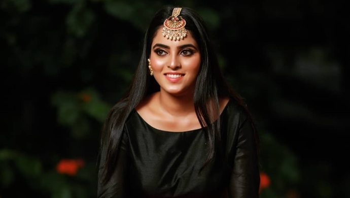 A Smiling Still Of Aarthi Manjunath Aka Actress Ashwini From Gattimela