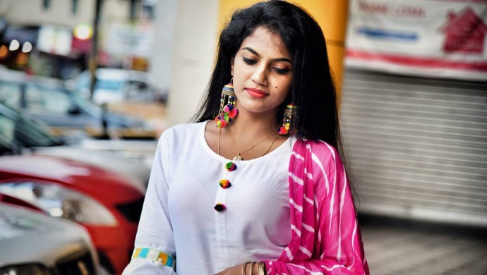 A Still Of Aadya Aka Actress Anvitha