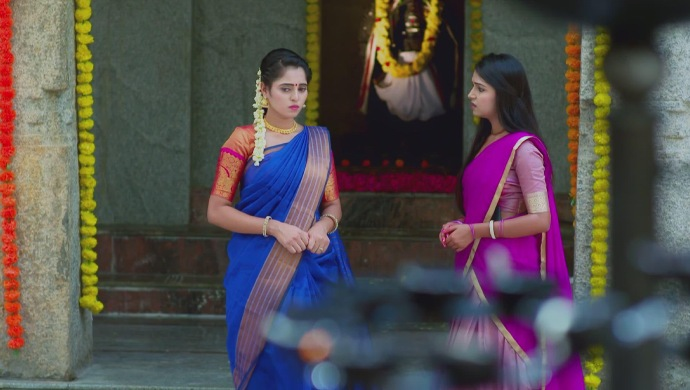 A Still Of Aarthi And Amulya