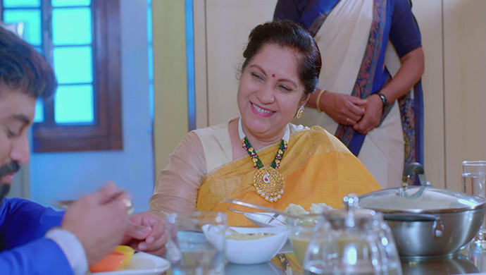 A Still Of Aarya And His Mother