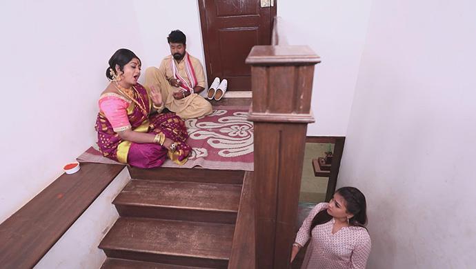 A Still Of Kanthamma, Vajramuni And Likitha